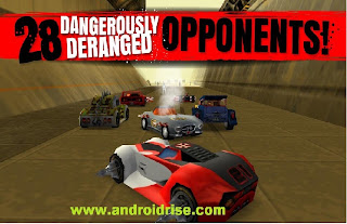 Multiple control Android Racing Game Carmageddon