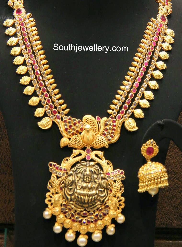 lakshmi temple jewellery models