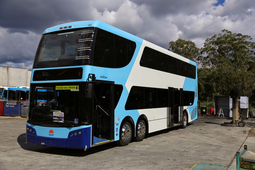 Australian bus manufacturer bustech has been chosen as the lead