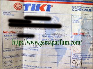 Pengiriman Parfum ke Banten
