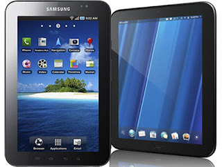 Samsung Galaxy Tab and HP TouchPad