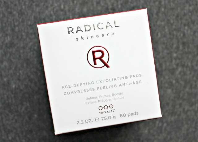 Radical Skincare Age-Defying Exfoliating Pads box