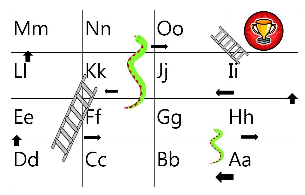 Grade 1 2 Alphabet Bingo Snakes Ladders Free Stuff Mrs