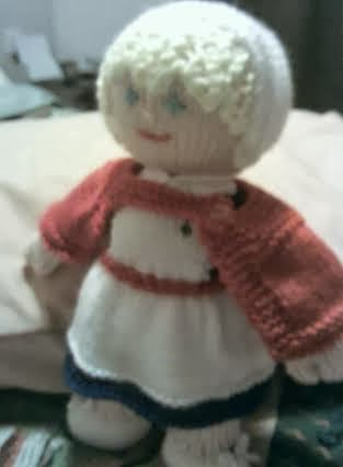 Knitting Pattern For Nurse Doll : The Nutty Knitter: Meet Annabel