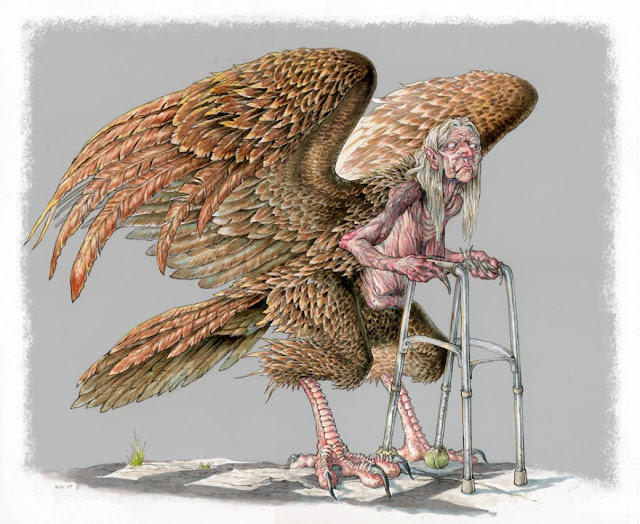 Harpy por megamoth