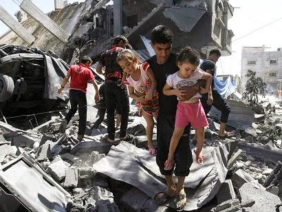 Impactantes imágenes del genocidio perpetrado por Israel