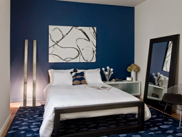 Dormitorios en color azul colores en casa for Bed styles images
