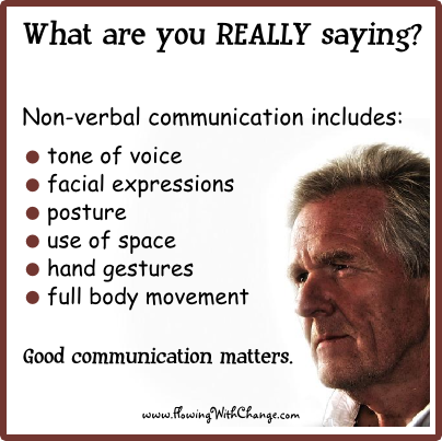 nonverbal communication skills Nonverbal communication is a most effective means of conveying the kind of information that reveals a project manager's character and shapes a project team's identity.