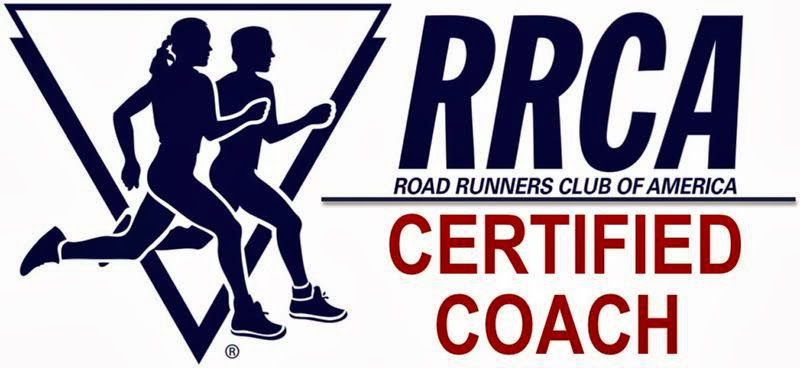 I am also a Certified RRCA Coach