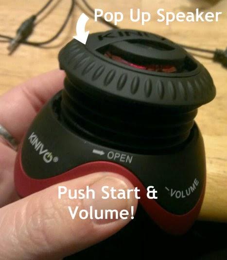 KINIVO ZX100 POP UP SPEAKER
