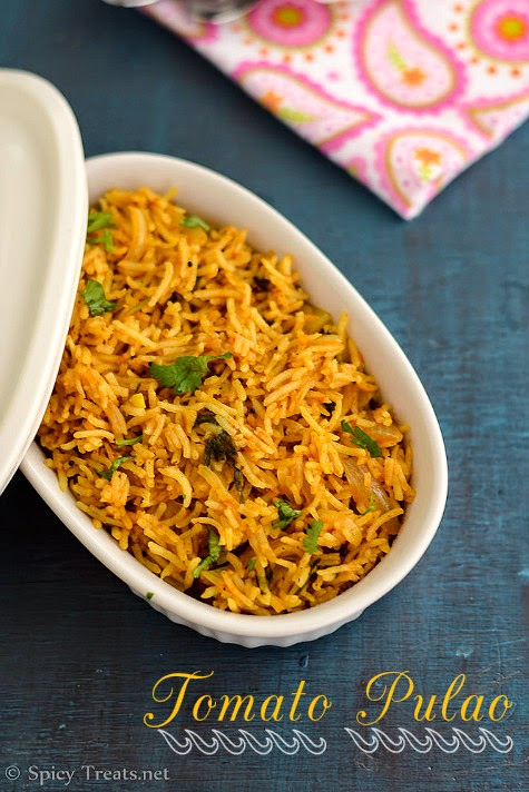 Tomato Pulao Recipe