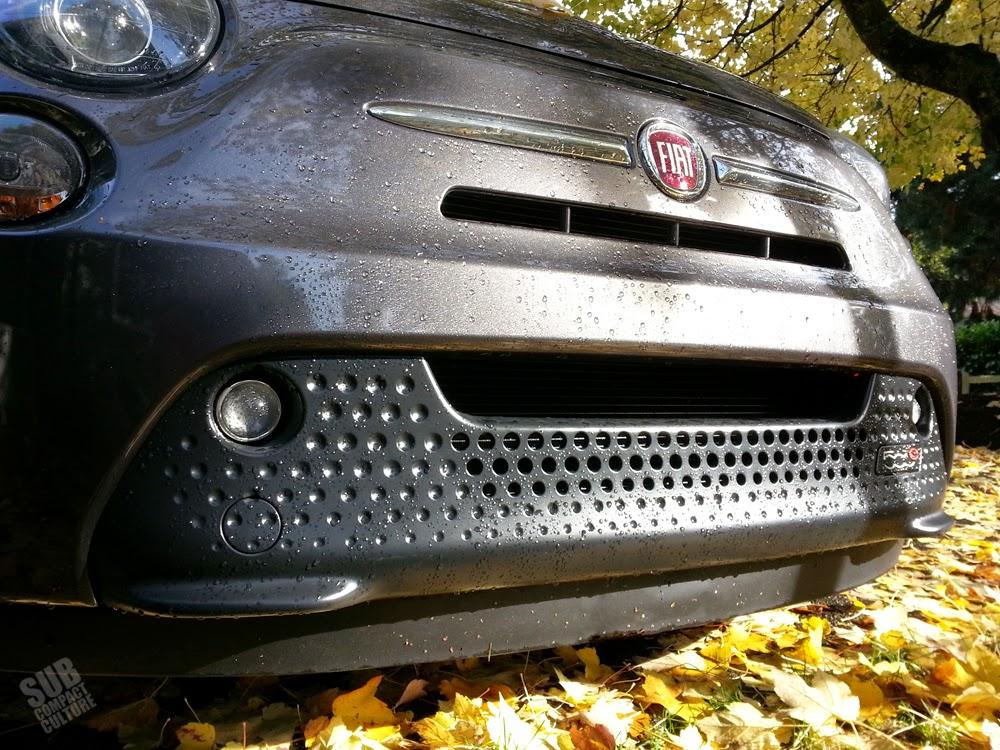 Fiat 500e front fascia
