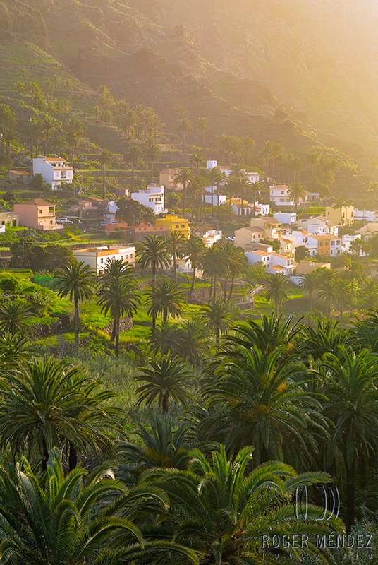 Valle Gran Rey, La Gomera, copyright Roger Mendez photographer