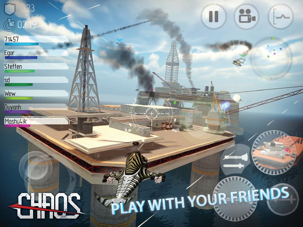 CHAOS Combat Copters HD №1 v6.3.5