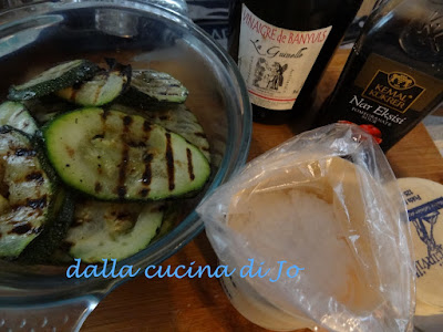 zucchini giganti in agrodolce