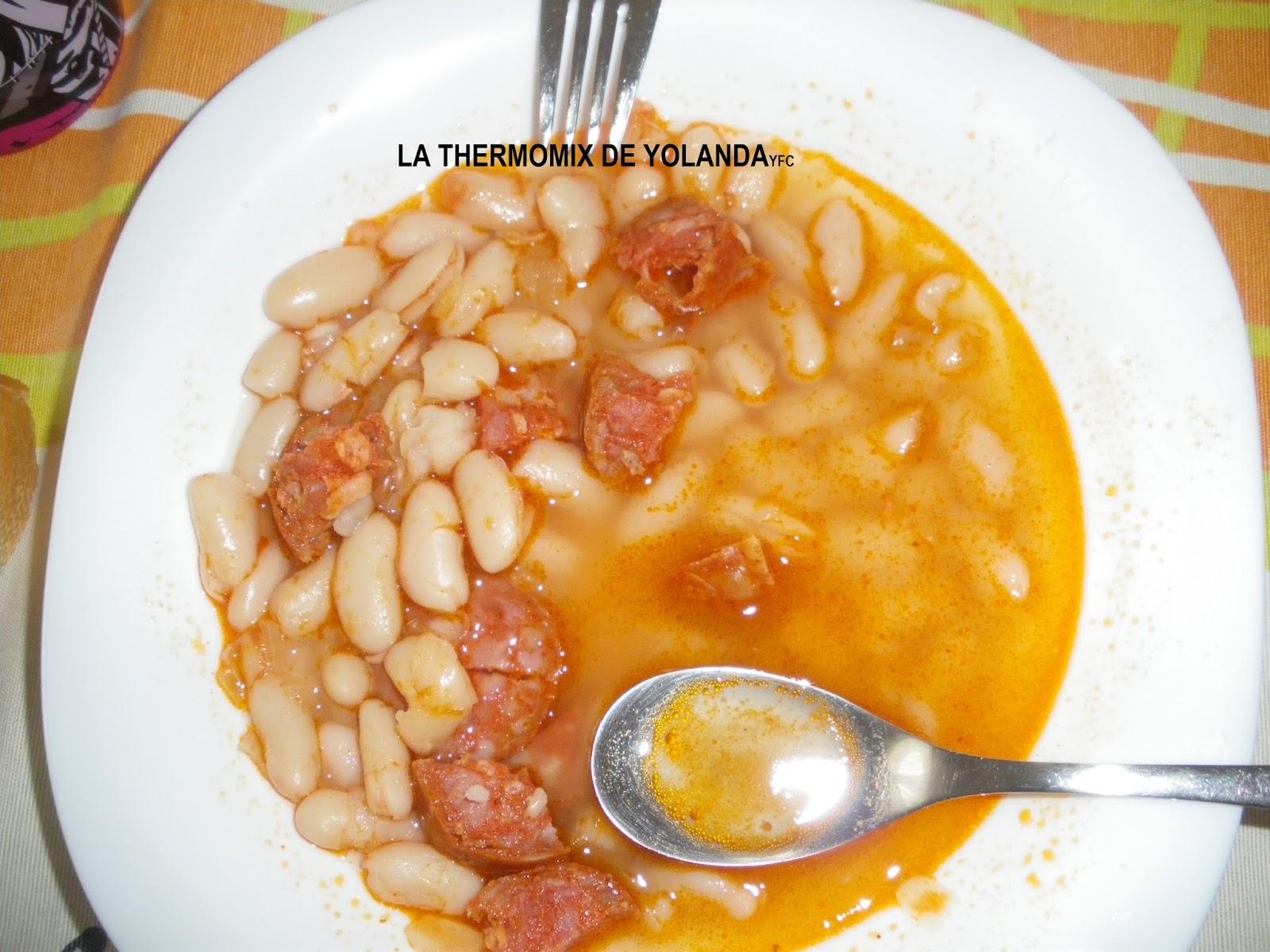 La thermomix de yolanda judias con chorizo - Judias con chorizo y patatas ...