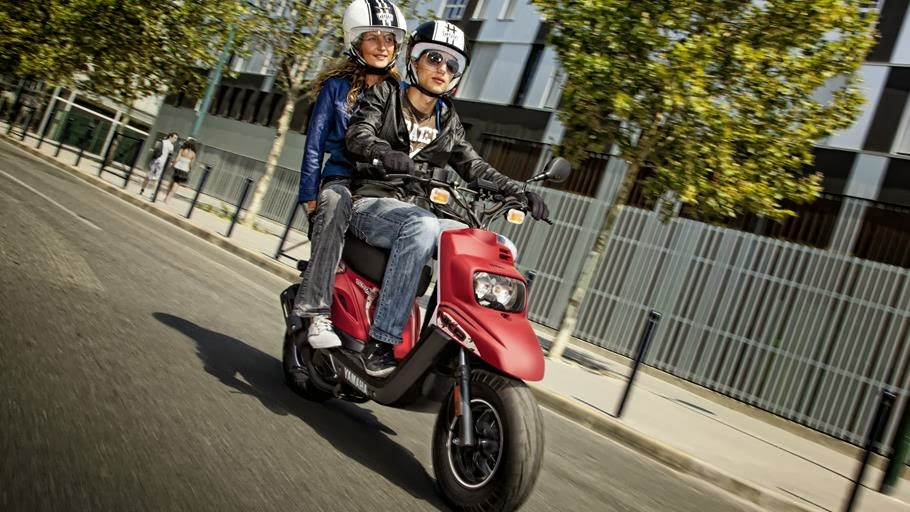 Yamaha new BWS 49cc Scooter Images