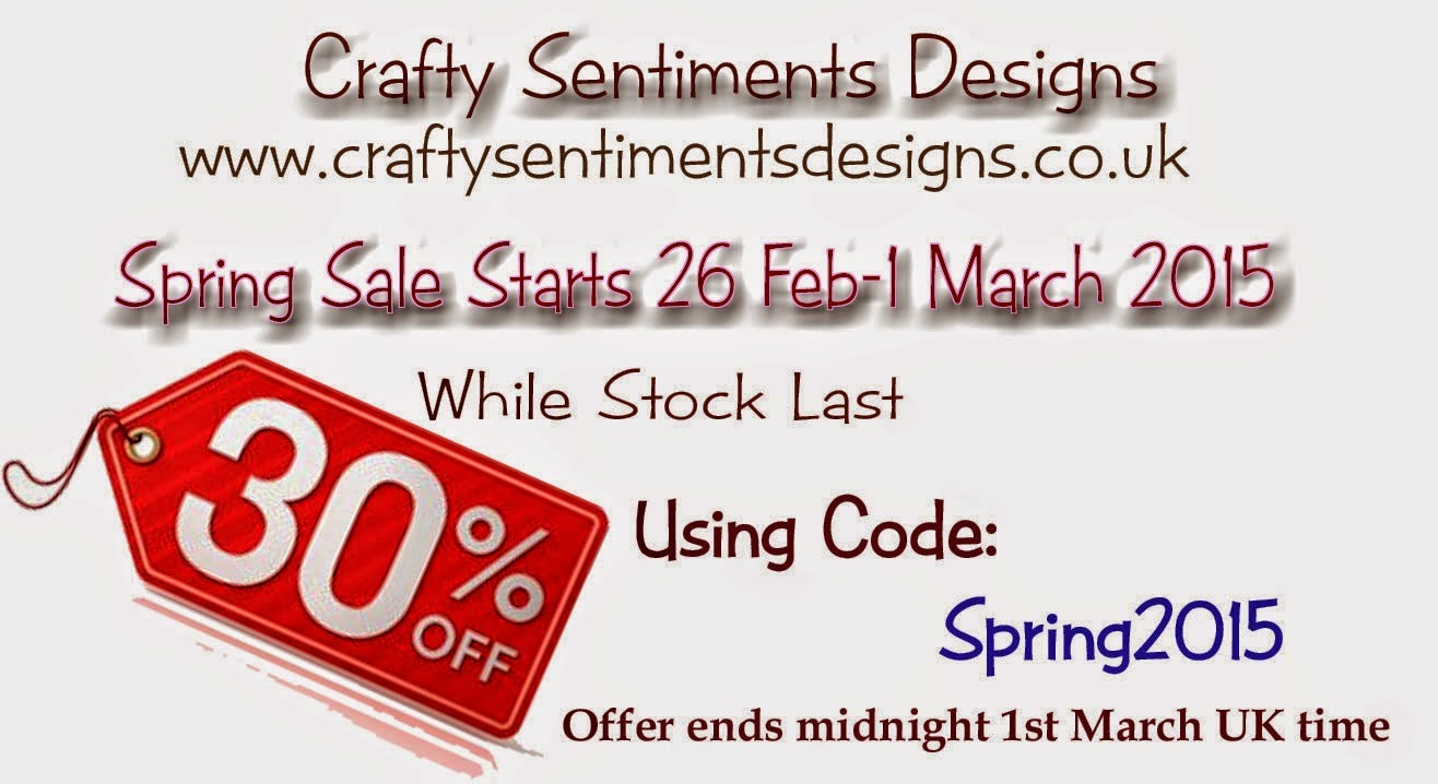 Promos chez crafty sentiments
