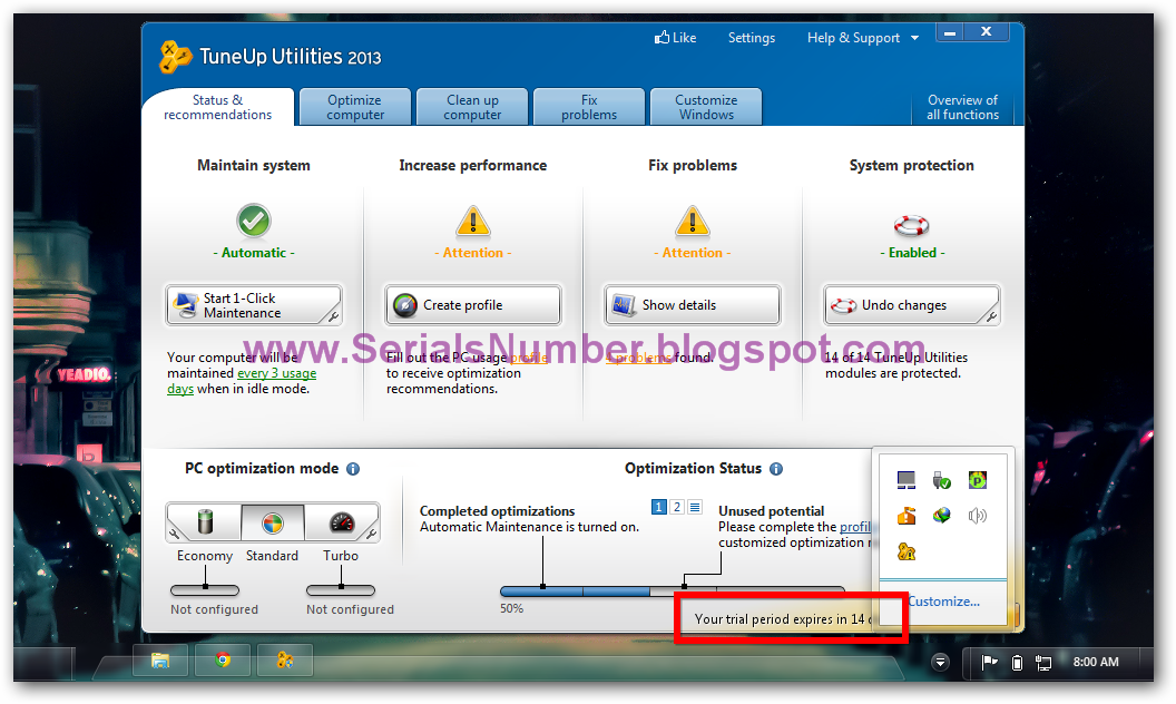 Aug 26, 2012. . TuneUp Utilities 2013 Free downloadcrack with crack and Se