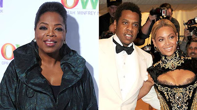 Oprah Winfrey  Is The Godmother Of Beyonce & Jay-Z's Baby Blue Ivy