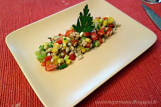 Перловый салат