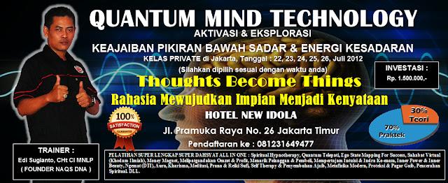 Jadwal Pelatihan Private Bulan Juli 2012 di Jakarta.