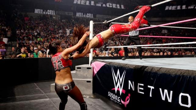 WWE Hell In A Cell Bella Buster Championship #GiveDivasAChance