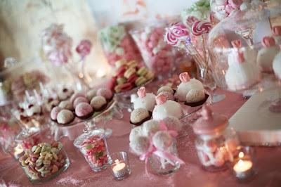 candy bar różowy