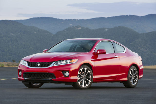 2013-Honda-Accord-Coupe-V6-red-front-angle