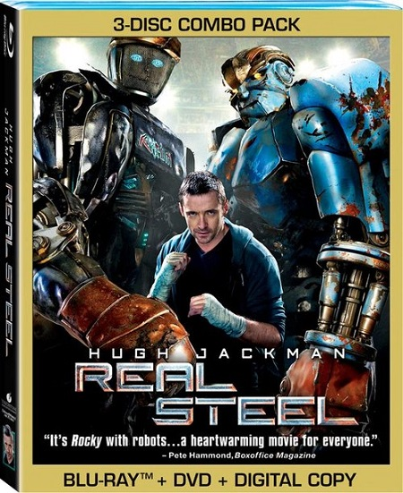 Real Steel (Gigantes de Acero) (2011) 1080p BluRay REMUX 26GB mkv Dual Audio DTS-HD 7.1 ch