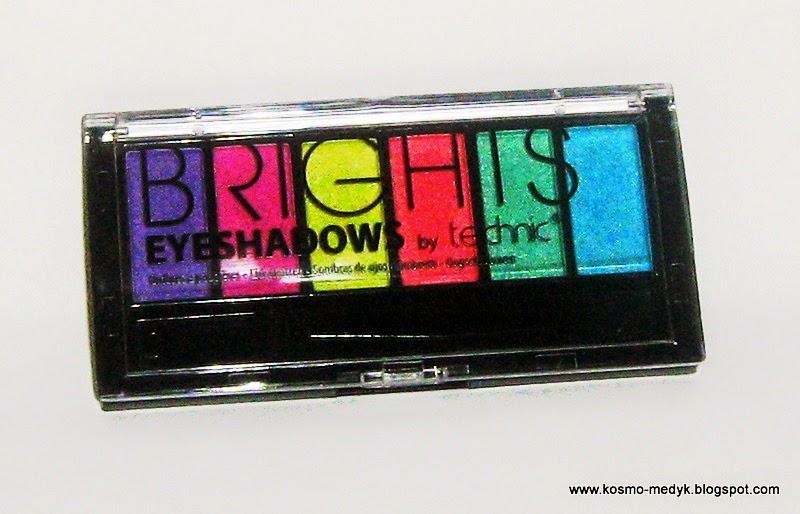 Technic Brights - mała paletka z dużymi możliwościami?