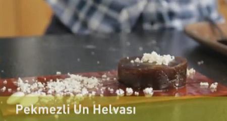 Pekmezli Un Helvası Nasıl Yapılır - Videolu Tarifi