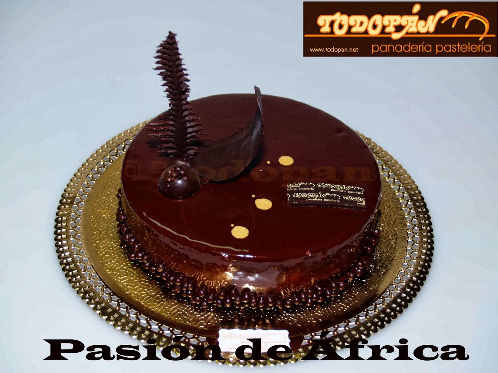 Tarta pasión de África