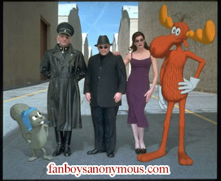 Animated Rocky and Bullwinkle movie pics