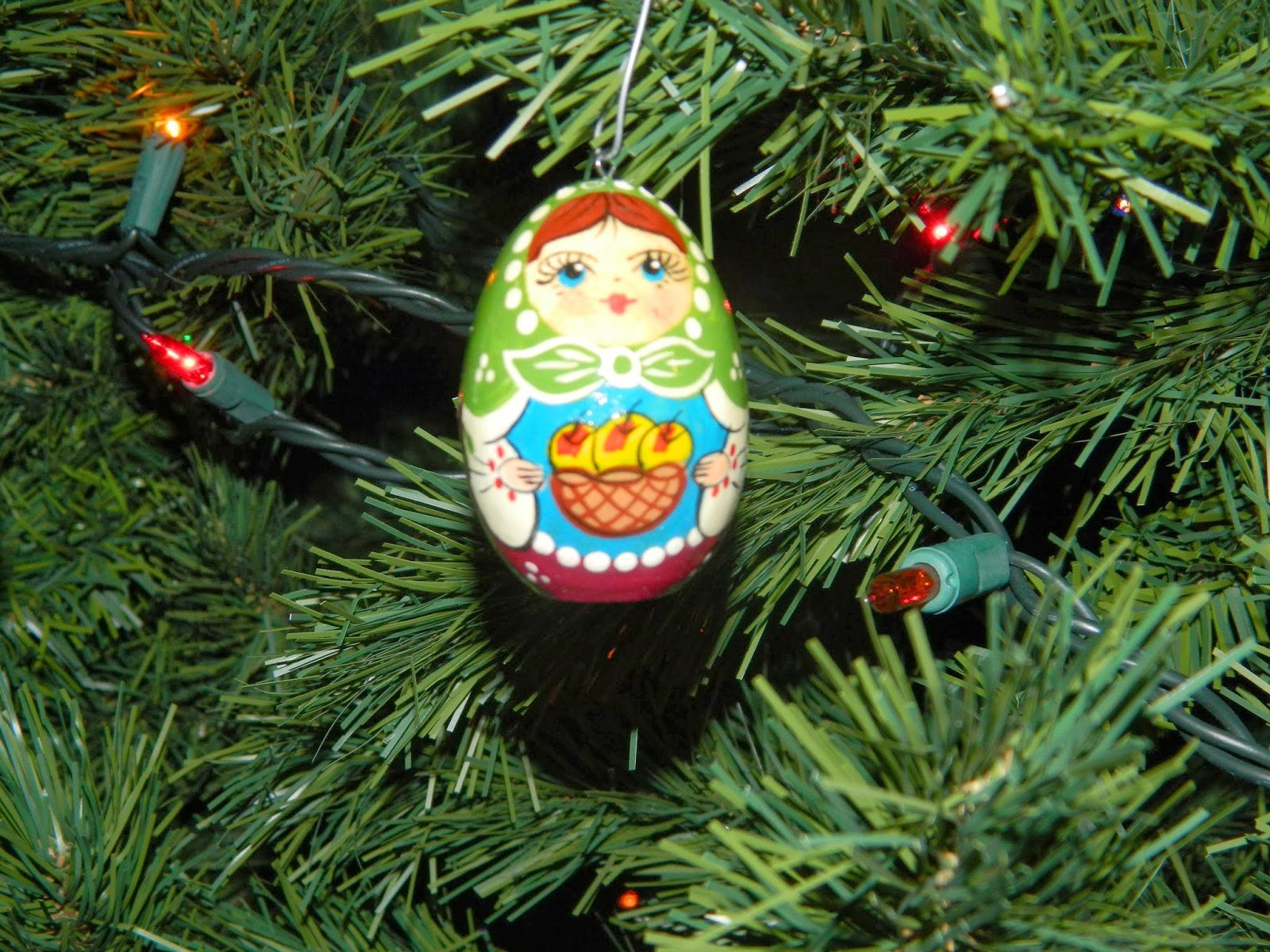 Ukrainian christmas ornaments - And This One We Got From Our Friend Wendy Bergstrom Who We Were Blessed To Meet While We Were In Kiev