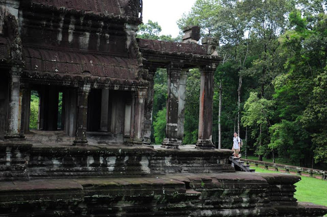 Angkor temple site