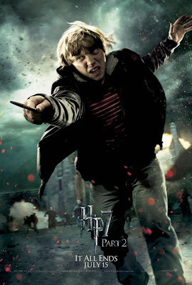 Harry Potter and the Deathly Hallows: Part 2 Character Movie Poster Set - Rupert Grint as Ron Weasley