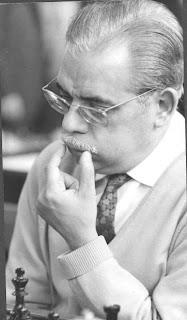 Antonio Medina vencedor del VII Torneo Cerrado de Ajedrez Berga 1966