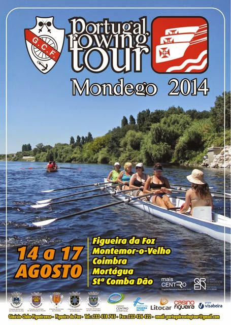PORTUGAL ROWING TOUR - Mondego 2014
