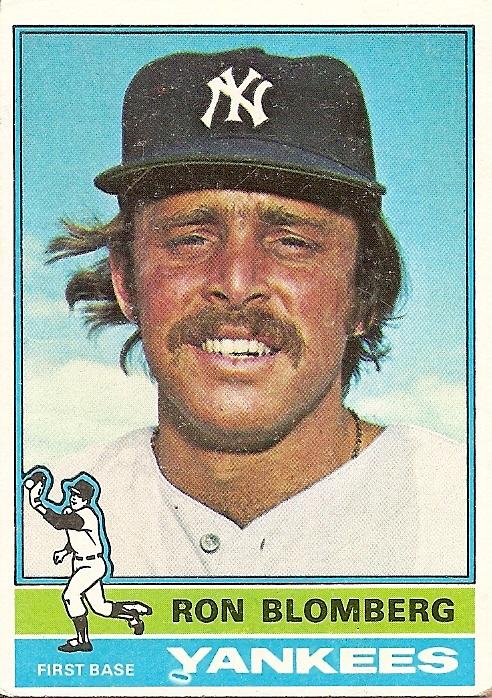 NY Yankees Travel Case Ron Blomberg