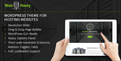 Download Themforest WebHosty Hosting WordPress Theme