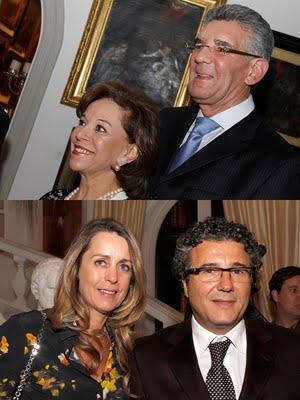 Nadia e Olavo Setubal / Flavia e Ricardo Marujo