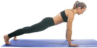 Prancha é ótima opção para isometria no Pilates