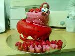 O bolo torto da Moranguinho