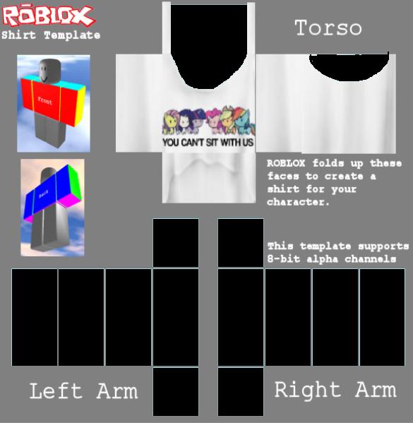 Girl roblox shirt template for Roblox t shirt template