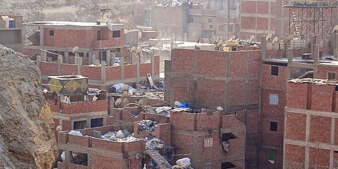 Kawasan Manshiyat Naseer di Ibu Kota Kairo, Mesir