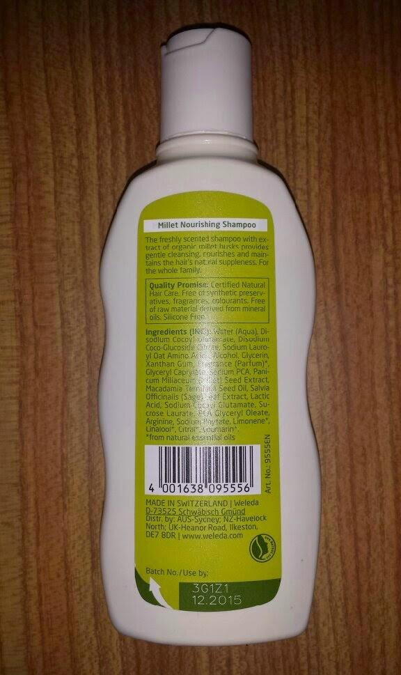 Weleda Millet Nourishing Shampoo