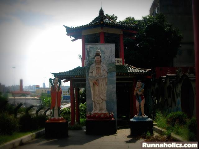Templo Budista no Bairro da Liberdade
