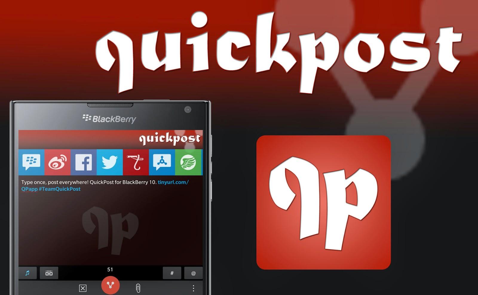 Aplicación QuickPost