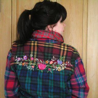 cissyface vintage frockery tartan shirt